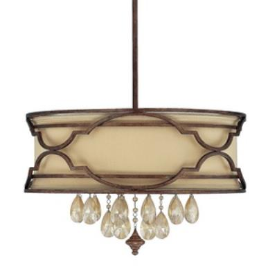 Capital Lighting 4056BD-529-CR Luciana - Six Light Pendant