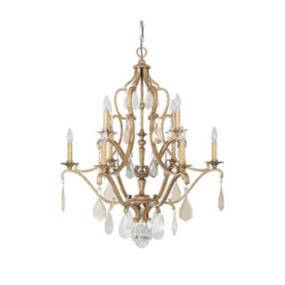 Capital Lighting 4180AG-PC Blakely - Ten Light 2-Tier Chandelier