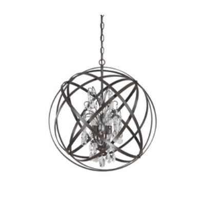 Capital Lighting 4234RS-CR Axis - Four Light Pendant