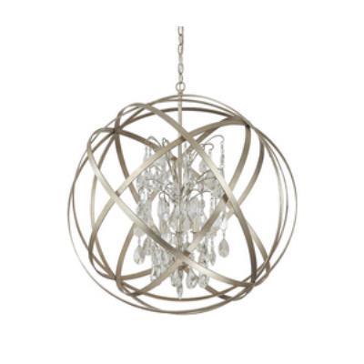 Capital Lighting 4236WG-CR Axis - Six Light Pendant