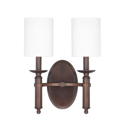 Capital Lighting 6302BB-489 Covington - Two Light Wall Sconce