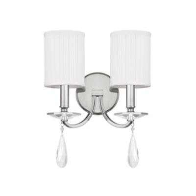 Capital Lighting 8027PN-573-CR Alisa - Two Light Wall Sconce