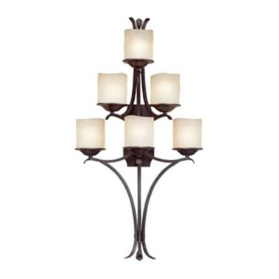 Capital Lighting 8436RM-205 Montana - Six Light Wall Sconce