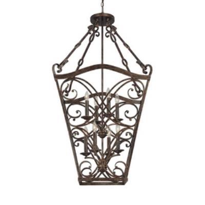 Capital Lighting 9363RT Reserve - Eight Light Foyer