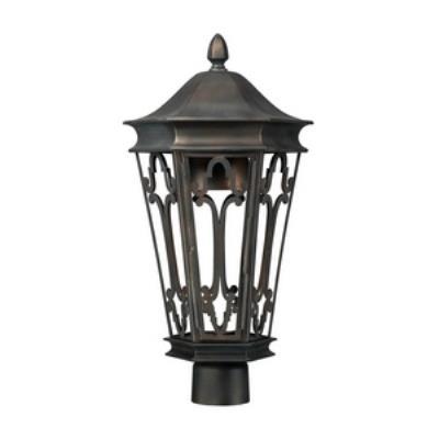 Capital Lighting 9445OB Townsende - One Light Outdoor Post Lantern