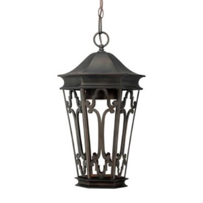 Capital Lighting 9446OB Townsende - One Light Outdoor Hanging Lantern