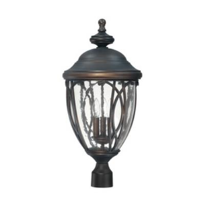 Capital Lighting 9455OB Astor - Three Light Outdoor Post Lantern
