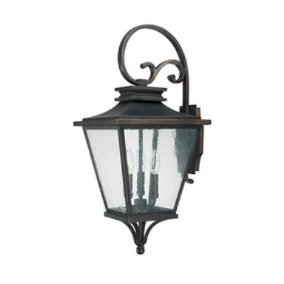 Capital Lighting 9463OB Gentry - Three Light Outdoor Wall Lantern
