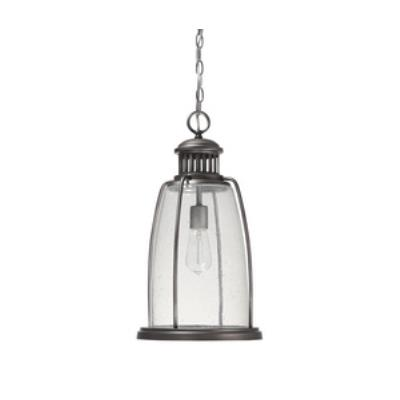Capital Lighting 9636GR Harbour - One Light Outdoor Hanging Lantern