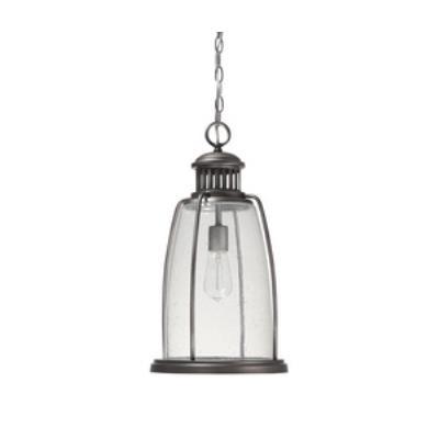 Capital Lighting 9636GR Harbour - One Light Outdoor Hanging Lantern