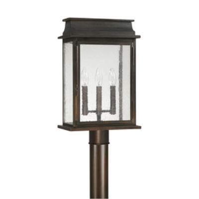 Capital Lighting 9665OB Bolton - Three Light Post Lantern