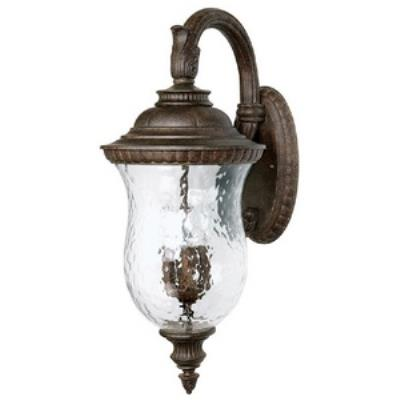 Capital Lighting 9784TS Ashford - Four Light Outdoor Wall Lantern Top Arm Mount