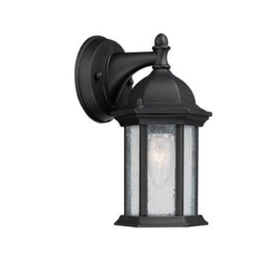 Capital Lighting 9831BK Main Street - One Light Wall Lantern