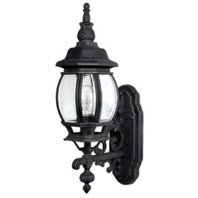 Capital Lighting 9867BK French Country - One Light Outdoor Wall Mount