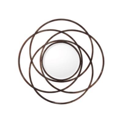"Capital Lighting M343477 33.75"" Round Decorative Mirror"