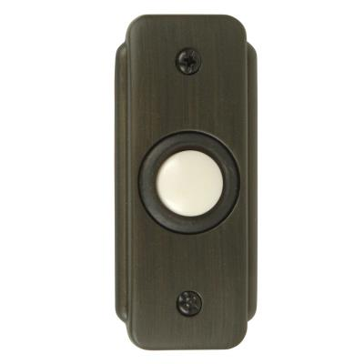 Craftmade Lighting BR2-BZ Recessed Door Bell Push Button