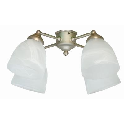Craftmade Lighting LK401CFL-BN Universal - Four Light Ceiling Fan Kit