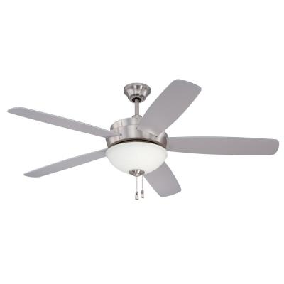 "Craftmade Lighting LY52SS Layton Unipack - 52"" Ceiling Fan"