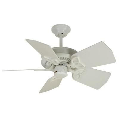 "Craftmade Lighting PI30W Piccolo - 30"" Ceiling Fan"