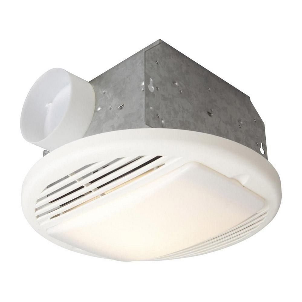 Exhaust Fans - Panasonic 50 cfm bathroom fan with light
