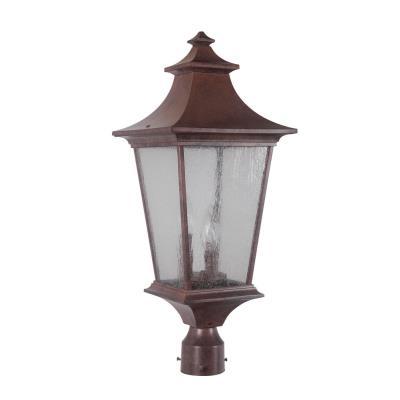 Craftmade Lighting Z1375-98 Argent II - Three Light Post Lantern