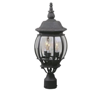 Craftmade Lighting Z335 French Style - Three Outdoor Medium Post Light