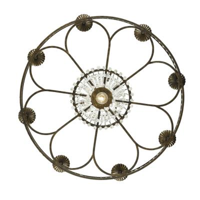 Crystorama Lighting 5268 Mercer - Eight Light Chandelier