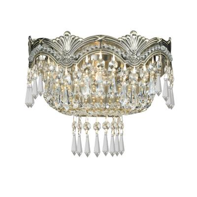 Crystorama Lighting 1480 Majestic - Two Light Wall Sconce