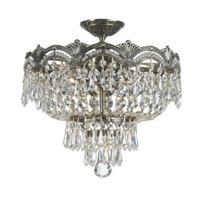 Crystorama Lighting 1483 Majestic - Three Light Ceiling Mount