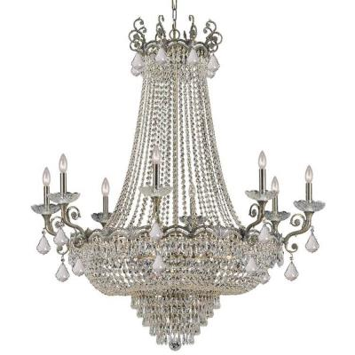 Crystorama Lighting 1488 Majestic - Eight Light Chandelier