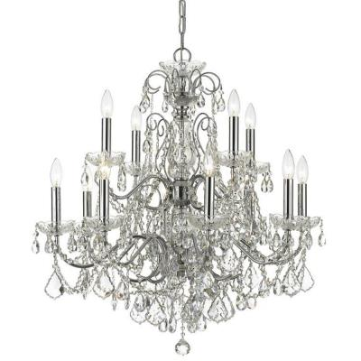 Crystorama Lighting 3228 Imperial - Twelve Light Chandelier