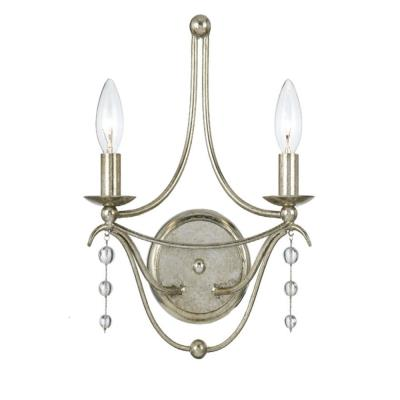Crystorama Lighting 432 Metro - Two Light Wall Sconce