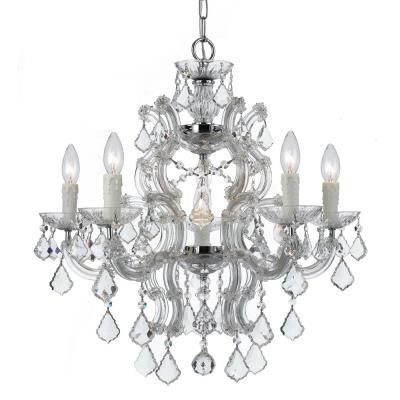 Crystorama Lighting 4335 Maria Theresa - Six Light Chandelier