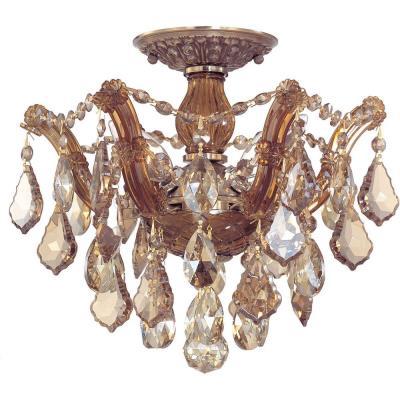 Crystorama Lighting 4430 Maria Theresa - Three Light Ceiling Mount