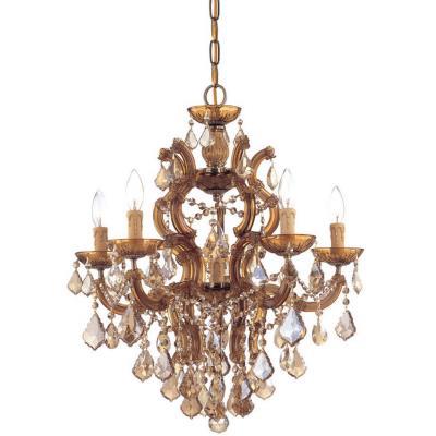 Crystorama Lighting 4435 Maria Theresa - Five Light Chandelier