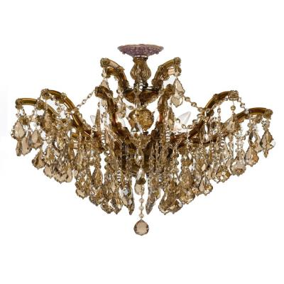 Crystorama Lighting 4439_CEILING Maria Theresa - Six Light Semi-Flush Mount