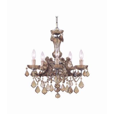 Crystorama Lighting 4476 Maria Theresa - Five Light Mini Chandelier