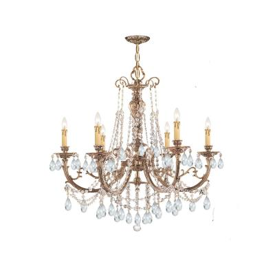 Crystorama Lighting 476 Etta - Six Light Chandelier