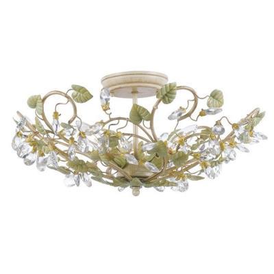 Crystorama Lighting 4840 Josie - Three Light Ceiling Mount