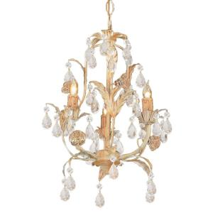 Athena - Three Light Mini Chandelier