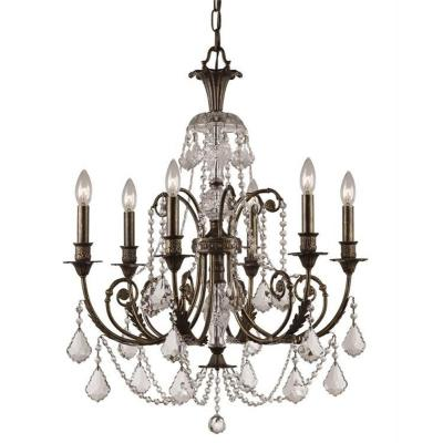 Crystorama Lighting 5116 Regis - Six Light Chandelier