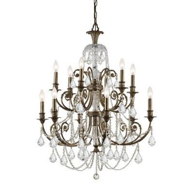 Crystorama Lighting 5119 Regis - Twelve Light Chandelier