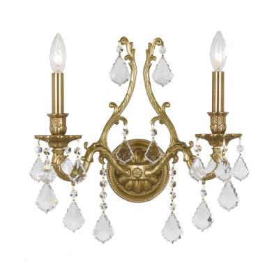 Crystorama Lighting 5142 Yorkshire - Two Light Wall Sconce