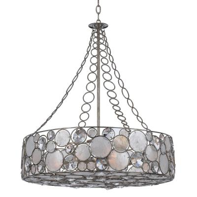 Crystorama Lighting 528 Palla - Eight Light Chandelier