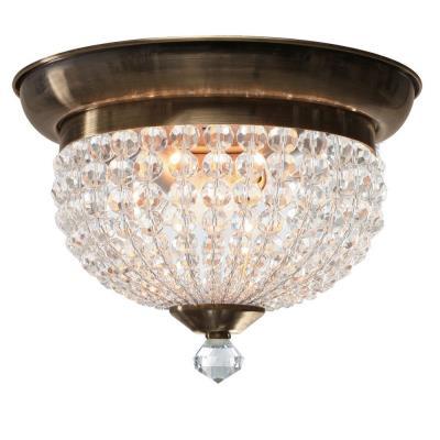 Crystorama Lighting 6742 Newbury - Two Light Ceiling Mount