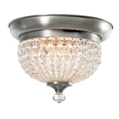 Crystorama Lighting 6742 Newbury - Two Light Ceiling Mount
