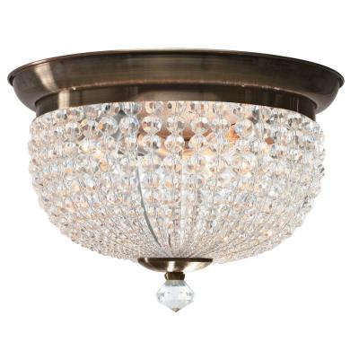 Crystorama Lighting 6743 Newbury - Three Light Ceiling Mount