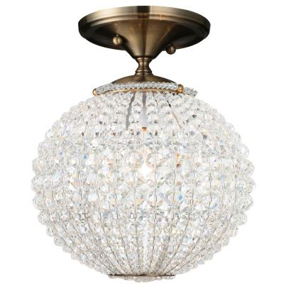 Crystorama Lighting 6750 Newbury - One Light Ceiling Mount