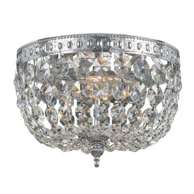 Crystorama Lighting 710 Richmond - Two Light Flush Mount