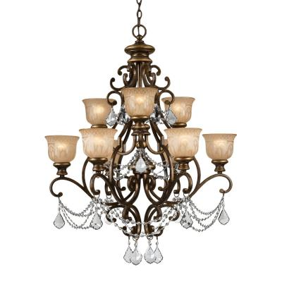 Crystorama Lighting 7509 Norwalk - Nine Light Chandelier